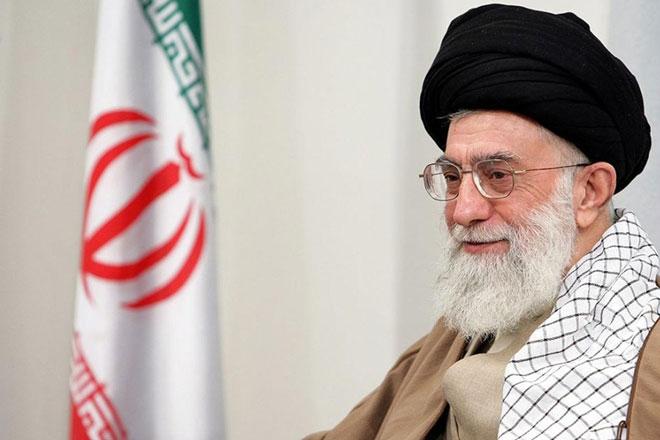 Верховный лидер Ирана Сейид Али Хусейни Хаменеи